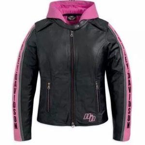 Harley Davidson3in1 Black Leather jacket Medium